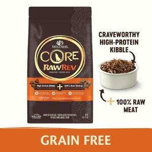 Wellness CORE RawRev Natural Grain Free Dry Dog Food, Original Turkey & Chicken