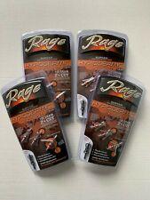 "4 packs Rage Crossbow Hypodermic Broadheads 100 Grain 2"" Cut Slipcam Rear Deploy"