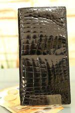 Brieftasche KRALLE - Echtes Krokodil Leder! IRV NEU! Wallet crocodile NEW! n900