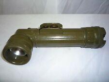Vintage MX-991/U U.S. Military Angle Signal Flashlight with Color Filter Lenses