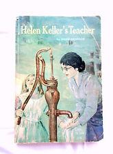 Helen Keller's Teacher by Mickie Davidson, First Edition!