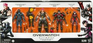 Overwatch Ultimates Carbon Series Action Figure 4 Pack