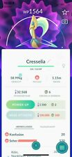 POKEMON GO - MINI @CCOUNT -  FLASH SALE 40% OFF on 🎇 SHINY Cresselia !! NEW **