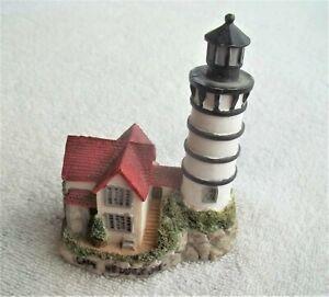 Vintage Cape Neddick ME Lighthouse  Resin