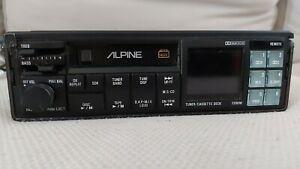 VINTAGE /////ALPINE 7309M TUNER CASSETTE DECK