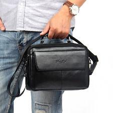 Men Genuine Leather Bag Shoulder Messenger Bags Casual fashion Business Bag