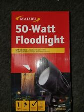 Malibu 8301-9601-01 50 Watt Cast Metal Flood Lights Black Matte New & Malibu Outdoor Floodlights u0026 Spotlights | eBay azcodes.com