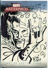 Marvel Masterpieces 2007 Sketch Card By Kieron Dwyer
