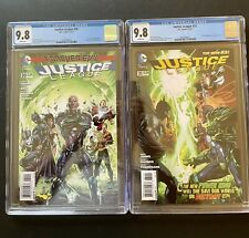 Justice league # 30 and # 31 CGC 9.8