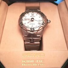 Montre Seiko kinetic Auto Relay 5J22-0d20