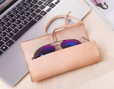 Eyeglasses Cases sunglasses bag glasses Pouch spectacle holder cow Leather z826
