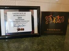 Dio Tournado limited edition cd box set Rare signed by Dio  Black sabbath
