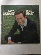"Andy Williams....""Dear Heart"" 12"" Vinyl Record LP"