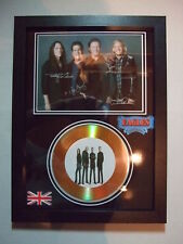 THE EAGLES  SIGNED  GOLD  DISC  Y8