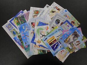 KOREA 150 souvenir sheets, different themes, used