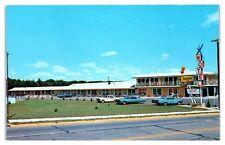 1950s/60s 4-Seasons Motel, Wisconsin Dells, WI Postcard