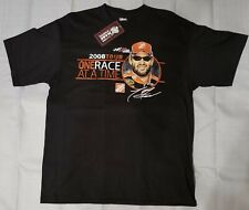 Tony Stewart Chase Authentic 2008 Tour T-Shirt 2 Sided Graphics Size XL X-Large