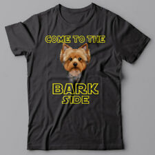 YORKIE Yorkshire Terrier dog T-shirt COME TO THE BARK SIDE - dark side