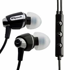 Klipsch Image S4i Headphones -with Built-in Mic (iPhone Compatible) - white