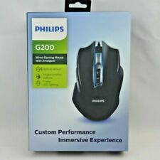 Philips G200 Wired Gaming Mouse With Ambiglow Custom Performance Optical Sensor