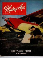 "Flying Age Magazine June 1946 Vol.53 No 2 ""Lightplanes: France!"""