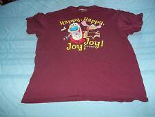 Ren & Stimpy Happy Happy Joy Joy vintage distressed graphics T-Shirt Size L