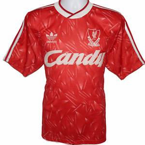 1989-1991 Liverpool Home Football Shirt, Adidas, Large (Excellent Condition)