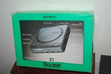 SONY D-2 DISCMAN VTG IN original BOX --> AS-IS FOR PART OR REPAIR