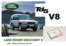 LAND ROVER DISCOVERY 2 Td5/V8 1998 - 2004 Full interior 39 LED KIT