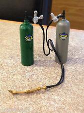 1/18 SCALE GMP TOOLKIT OXY-ACETYLENE GAS WELDER MODIFIED GARAGE WORKSHOP DIORAMA