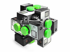 Stereoscopic 3d 360 ° Spherical panorama Mount f.12x GoPro Hero 3-4 VR