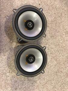 "JBL Club 522F 5.25"" 135W Two-Way Car Speaker Made In USA Working"