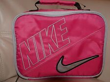 NEW WITH TAG NIKE Swoosh PINK FORCE Insulated Soft Lunch Box Bag TOTE 9A2217-P08