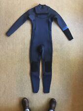 Boys Billabong 3/2 Revolution Wetsuit Zip Full Suit Sz 14-EUC