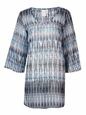 ba161c0fd3301 Bar III Women s Printed Chiffon Tunic Swimsuit Cover-Up