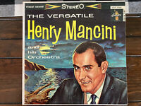 The Versatile Henry Mancini - Henry Mancini And His Orchestra - Liberty LST-7121
