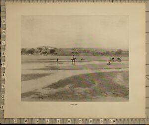 1899 BOER WAR ERA SOUTH AFRICA PRINT FORT TULI