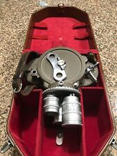 Bell & Howell 70DR 16mm Cine Camera w/ 2 Angenieux lenses + 1 Super Comat Len