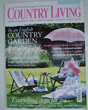 July Home & Garden Country Living Magazines