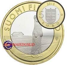 5 Euro Commémorative Finlande 2015 - Province Ostrobothnia