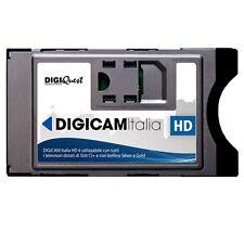 TIVUSAT tivù DIGIQUEST 4k CAM CI Modulo HDTV Italia Mediaset senza scheda SMART CARD