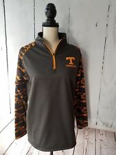 Tennessee Volunteers Charcoal/Orange Camo Pullover Youth Size XL Colosseum NEW