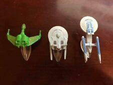 Lot of 3 - Star Trek 1990's Micro Machines Space Ships
