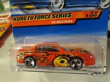 Hot Wheels '99 Mustang Kung Fu Force Series Red