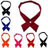 Bow Tie Adjustable Necktie Fashion Men's Multi Color Self Neckwear Ties Cravat
