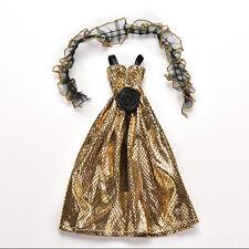 1X-Krokodil-Korn New Arrivals Puppenkleidung Kleid für Barbie-Puppen mit Tüchern