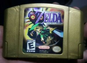 The Legend of Zelda Majora's Mask Nintendo 64 N64 Cleaned & Tested Authentic