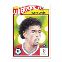 2020 UCL Topps Now Living Set card #262 UEFA Champions League CURTIS JONES