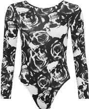 Crew Neck Skull Casual Tops & Shirts for Women