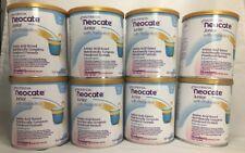8 cans / 2 cases Neocate Jr Strawberry Junior w Prebiotics Powder Formula AHNC